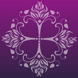 Classical floral pattern design Royalty Free Stock Images