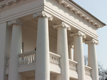 Classical four columns ionic portico Royalty Free Stock Image