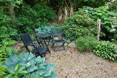 Classical Garden Furniture Stock Images