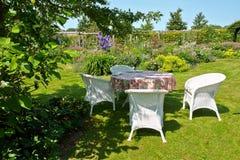 Classical Garden Furniture Stock Photos