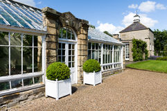 Classical Garden Glasshouse - Green House - Hot House - North Yorkshire Stock Photography