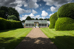 Classical Garden Glasshouse - Green House - Hot House - North Yorkshire Royalty Free Stock Photography
