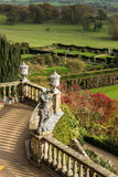 Classical Garden Landscape in Wales Stock Photo