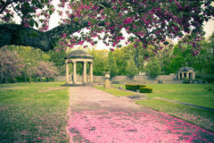 Classical garden Stock Images