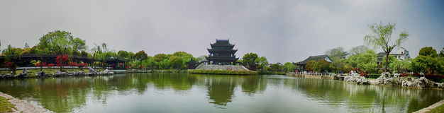 Classical Gardens of Suzhou, Travel to China Stock Images