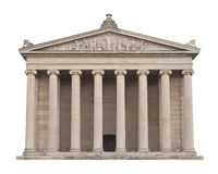 Classical Greek Architecture Royalty Free Stock Images