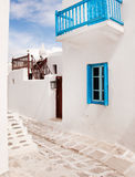 Classical Greek architecture of the streets Stock Image