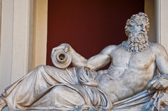 Classical Greek marble sculpture Stock Photography