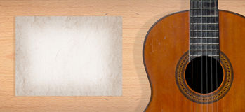 Classical guitar Royalty Free Stock Images