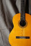Classical guitar close up Royalty Free Stock Photo