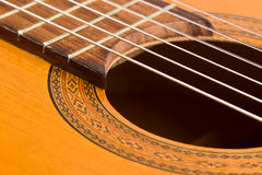 Classical Guitar Detail Royalty Free Stock Photo