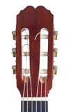 Classical guitar headstock Royalty Free Stock Photo