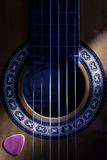 Classical Guitar Hole Stock Images
