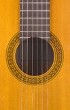 Classical Guitar Sound Hole Stock Images
