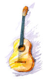 Classical guitar Royalty Free Stock Photography