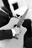 Classical guitarist Stock Images