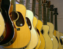 Classical Guitars For Sale Stock Photo
