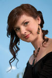 Classical hairdress Royalty Free Stock Photography