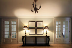 Classical interior Royalty Free Stock Images