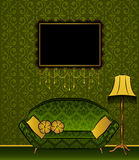Classical interior for design. Stock Photography
