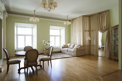 Classical interior. Of a living room Stock Image