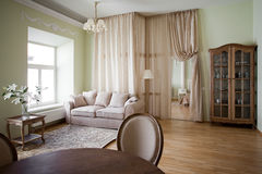 Classical interior Stock Image