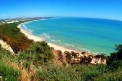 Classical Italy, coast near Eraclea city. Classical Italy ,Sicily, coast near Eraclea city Stock Images