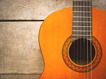 Classical Left Hand Guitar Royalty Free Stock Photos