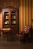 Classical library room Royalty Free Stock Photography