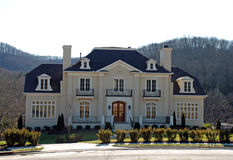 Classical Luxury Home 37. Classical architecture, set in the hillside Royalty Free Stock Images