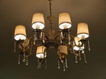 Classical luxury retro style Chandelier Stock Photos