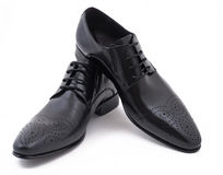 Classical man's shoes Royalty Free Stock Images