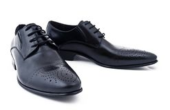 Classical man's shoes Stock Photography