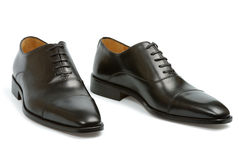 Classical Man Shoes Royalty Free Stock Photo
