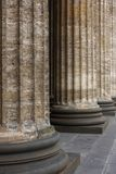 Classical marble columns Stock Photography