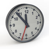 Classical modern clock Royalty Free Stock Images