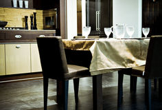 Classical modern kitchen Royalty Free Stock Photography