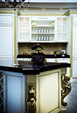 Classical modern kitchen Royalty Free Stock Photos