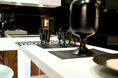 Classical modern kitchen Stock Photography