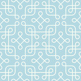 Classical monochrome geometric pattern Stock Photos