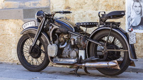 Classical Motocycle Royalty Free Stock Images