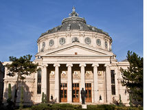 Classical music. Front view of Bucharest Atheneum Stock Photo
