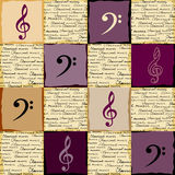 Classical music background Stock Image