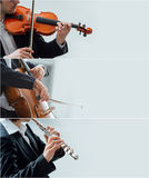 Classical music banners royalty free stock images