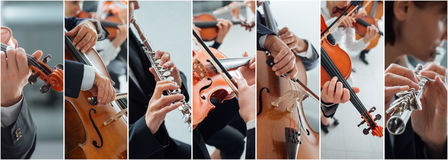 Free Classical Music Collage Stock Photo - 78051120