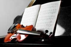 Classical music concept Stock Image