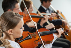 Classical music: concert Royalty Free Stock Photography