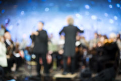 Classical music festival Royalty Free Stock Images