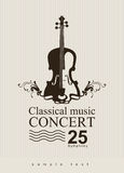 Classical music vector illustration