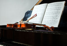 Classical music scene Royalty Free Stock Photo